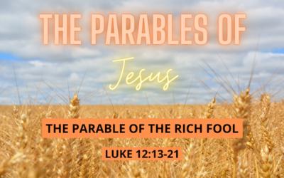 Sermon for Sunday 1st August 2021